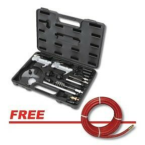 Atd 21pc Blow Gun Accessory Tool Kit With Free Goodyear Air Hose 8721p
