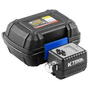 Kti 1 2 Dr Digital Torque Wrench Adapter Tool With Storage Case 72138