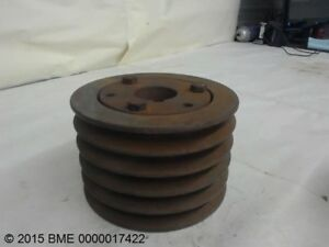 Browning 5tb58 5 Groove V Belt Pulley sheave Uses Q1 Bushing
