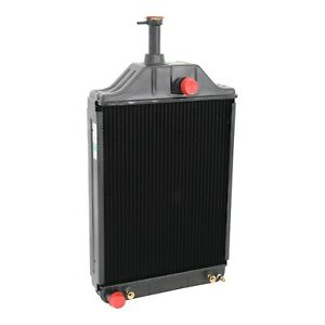 Massey Ferguson Tractor Radiator Fits 255 And 265 Early Diesel Oe 531981m94