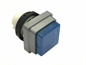 Push Button For Heidelberg Press Blue Square Qty1 Offset Parts New