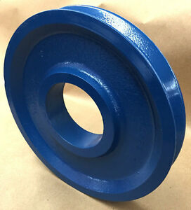 Wire Rope Sheave pulley 1 2 Rope 9 7 8 Od 3 1 2 Plain Bore Cast Steel