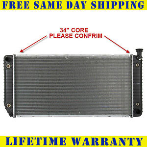 Radiator For 1994 2000 Chevy 1500 Gmc Yukon Cadillac Escalade V8 Free Shipping