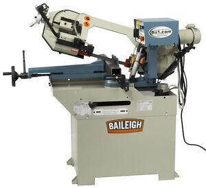New Baileigh Bs 250m Horizontal Band Saw Free Shipping