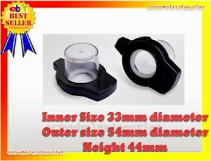 Security Bottle Hard Tag 100 Pcs Checkpoint Compatible 8 2mhz Black