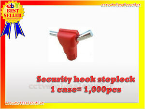 Security Stop Lock Hard Tag 1000 Pcs Checkpoint Compatible 8 2mhz