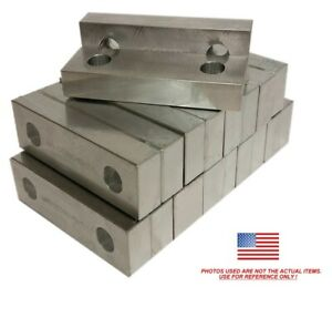 10pack 6 X 2 X 1 Reversible Aluminum Vise Soft Jaws Kurt 6 Vises Free Ship 6x2x1