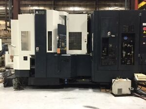 Makino A88 Cnc Horizontal Machining Center 2000 Fanuc 16im 90 Atc