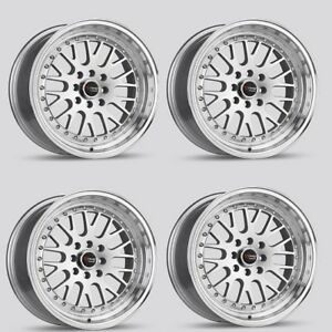 Drag Dr 58 Low Offset 25 16x8 25 4x114 4x100 Rims For Accord Prius Neon Prelude