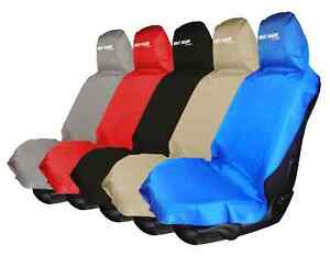 Waterproof Removable Car Front Back Seat Cover Sweat Sport Carseat Protect Clean