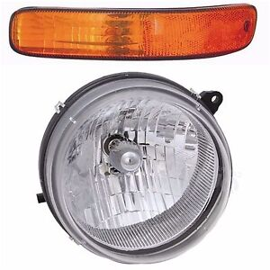 2002 2003 2004 Jeep Liberty Headlight Signal Lamp Light Left Driver Side Only