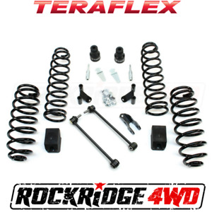 Teraflex 07 18 Jeep Wrangler Jk 2 Door 2 5 Lift Suspension Kit Shock Extensions