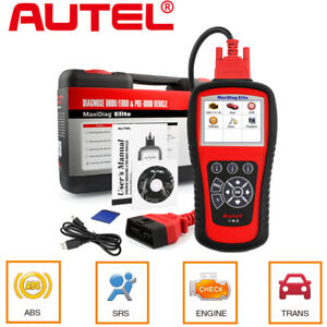 Autel Md802 Obd2 Auto Diagnostic Tool Code Reader Scanner Airbag Abs Engine Epb