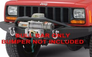Smittybilt Xrc Front Bumper Bull Bar Option 1984 2001 Jeep Cherokee Xj 76811