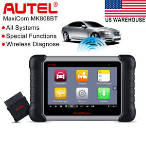 Autel Maxicom Mk808bt Obd2 Auto Diagnostic Tool Bluetooth Code Scanner As Ds808