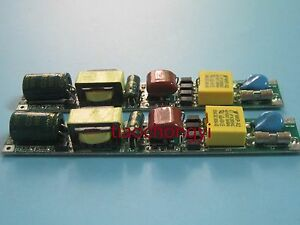 10pc Constant Current Led Tube Transformer Power Supply T8 Tube Driver 18w 240ma