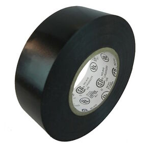 Tapessupply 1 Roll Black Electrical Tape 3 4 X 66 Ft Fast Free Shipping
