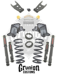 Belltech Chevy C1500 Silverado 1988 1998 2 4 Lowering Kit W Nitro Drop Shocks