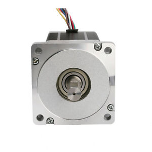 Nema 34 Step Stepper Motor 1090oz in 8wire 4a 98mm Cnc Cut Mill Mach3 Motor