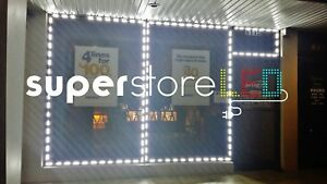 Superstoreled 50ft Store Front Window Genuine Bright Led Module Lights White