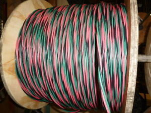 225 Ft 12 2 Wg Submersible Well Pump Wire Cable Solid Copper Wire