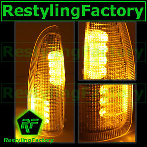 F250 f350 f450 f550 Super Duty 03 07 Side Mirror Light Amber Led amber Lens Ford