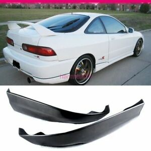 Fits 98 01 Acura Integra Rear Bumper Lip 2pcs Pu