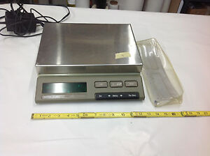 Mettler Sm f Sm3000 Digital Lab Scale 3000g Max Lot 4 Used