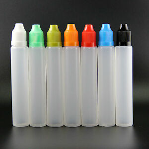 300pcs 30ml Newest Design Plastic Unicorn Dropper Bottle Child Proof Bottles