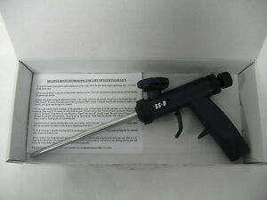 Touch N Seal Metal Barrel Sharpshooter D Adjustable Output Pu Foam Gun Dispenser