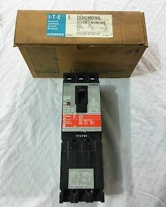 New In Box Siemens 3 Pole 30amp Type Ced6 Circuit Breaker Ced63b030l