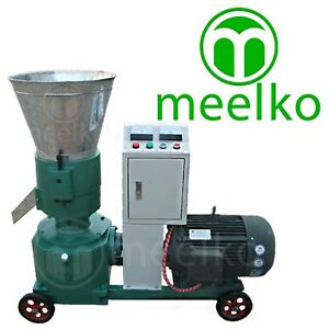 Combo Pellet Mill 7 5kw 10hp Hammer Mill 1 5kw Electric Engine Free Shipping