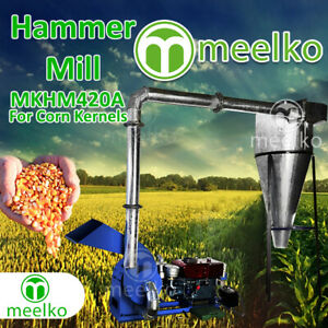 Diesel Hammer Mill For Corn Kernels With Cyclone Mkhm420a Free Shipping