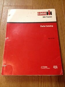 Parts Catalog Manual For Case Ih 895 Utility Tractors Don 8 7150