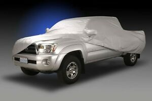 Toyota Truck Car Cover Bed Cab Custom Fit W Mirror Pockets Storage Bag