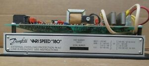 Danfoss 700375 Vari Speed 180 Control Board