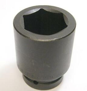 Sk Tools 88862 1 Inch Drive 6 Point Deep Fractional Impact Socket 1 15 16 Inch