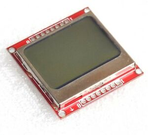 84 48 Lcd Module White Backlight Adapter Pcb For Nokia 5110 New S3