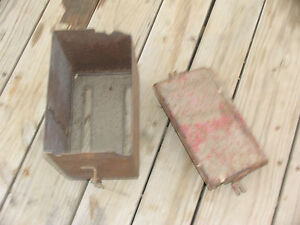 Ih International Farmall Battery Box M Super M