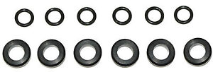 Fuel Injector Service Kit 8 Seals O Rings