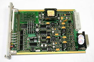 Zellweger Analytics 05704 a 0144 Catalytic Input 4 channel Control Card