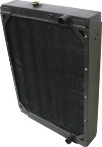 116154a1 Radiator For Case Ih 1688 2188 Combines