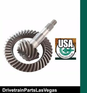 Quality Usa Standard Ring And Pinion Gear Set Dana 44 4 11 Thick Cut Jeep Rear