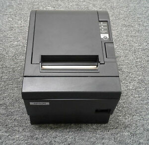 Epson Tm t88iii Receipt Printer With Usb Interface Charcoal Grey Color With Ps