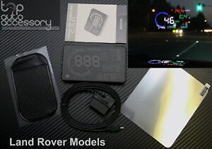 Hud Head Up Display 5 5 Obd Ii 2 Speed Rpm Warning System For All Land Rover