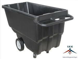 Heavy Duty Dump Tilt Cart 3 4 Cubic Yard 800 1200 Lbs