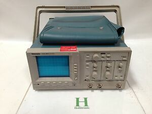 Tektronix Tas 465 100mhz 2 Channel Oscilloscope Analog Scope