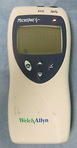 Welch Allyn Micropaq Model 404 Telemetry Monitor With Battery