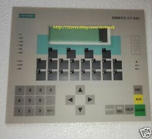 New Membrane Keypad For Siemens Simatic 6es7633 2bf01 0ae3 C7 633