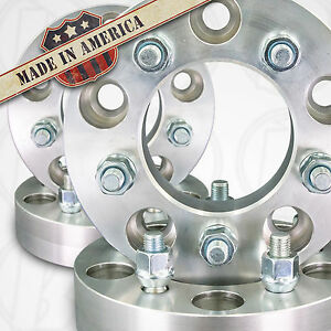 4 Usa Made Chevy S 10 Wheel Spacers 5x4 75 120 65mm To 5x4 75 12x1 5 Stud 1 5